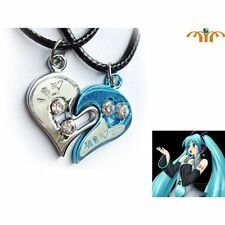Miku Hatsune Japanese Anime Necklace Heart Shade Set vocaloid collection charm
