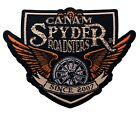 """4"""" Can-Am Spyder Roadsters Iron-On Woven Patch"""
