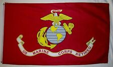3'x5' US MARINE CORPS HUGE FLAG BANNER USMC QUALITY USA MILITARY SEMPER FI 3X5