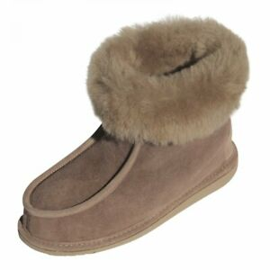 Ladies & Lambskin Slippers Adam fur Shoes Leather Shoes Warm Slippers