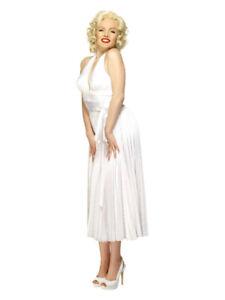 Marilyn Monroe Costume, White