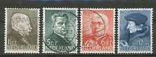 Nederland  283 - 286 gebruikt (6)