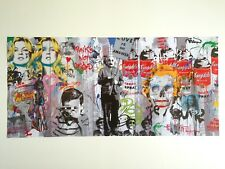 "MR. BRAINWASH LMTD RELEASE ORIGINAL LITHOGRAPH PRINT POSTER ""LOVE IS THE ANSWER"""