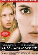 GIRL INTERRUPTED (Angelina JOLIE Winona RYDER) True Story Film DVD Region 4