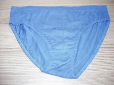 2 PAIR Men's  Bio Cotton Slips 1 Lt Blue & 1 Black Size Medium New Without Tags