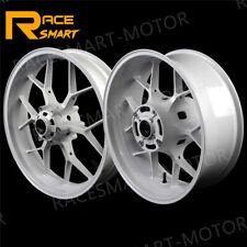 Front Rear Wheel Rims For Honda CBR600RR 600RR 2007 - 2017 2008 2009 2010 White