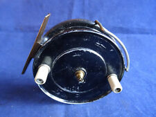 A VERY FINE UNNAMED J W YOUNG PATTERN 9 CENTREPIN REEL