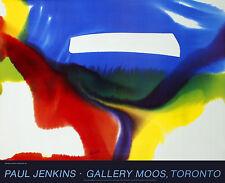 Paul Jenkins Phenomena paese Break 1984 poster stampa d'arte immagine 67x82cm