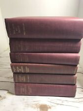 The Story Of Civilization Will Durant 6 Volumes. 1950-1972 Red