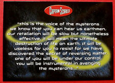 CAPTAIN SCARLET - Card #10 - This Is The Voice Of The Mysterons, Cards Inc. 2001