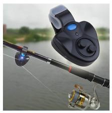Fisch Alarmanlage Sound und Licht Meldesystem Clip On fischen angeln Neu in