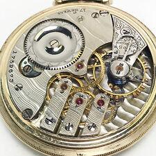 No Reserve! 1905 Illinois 16sz 184 Pocket Watch (#600)