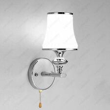 3W LED Wall Sconce Light Bulb Fixture Pull Switch Lamp Bedroom Vestibule Hallway