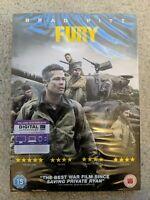 Fury DVD (2015) NEW