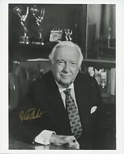 Walter Conkrite (American Journalist) Signed Photo Bs4316