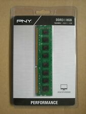 Brand NEW PNY Performance 8GB 1600MHz DDR3 PC3-12800 CL11 Desktop Memory