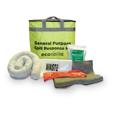 Ecospill 20L General Purpose Spill Kit -for Fuel/Oil, Agricultural, Coolants etc