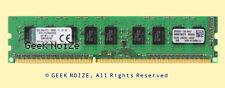 Kingston ECC Unbuffered 1x 8GB PC3-12800E DDR3 1600 2Rx8 1.5v UDIMM Memory LOT