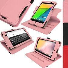 Rosa PU Leder Tasche Case für Neue Google Nexus 7 FHD Tablet 2. Gen August 2013