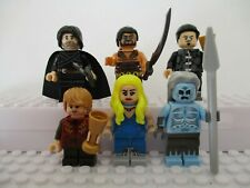 Game Of Thrones Jon Snow,Tyrion Lanister Fantasy Mini Figures use with lego