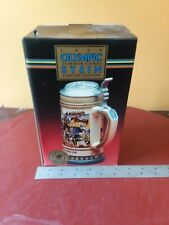 NEW Budweiser Olympic Beer Steins Seoul Summer Games 1988 Limited Edition NEW