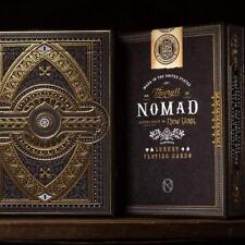 NoMad Playing Cards Black Gold Embossed Box by Theory 11