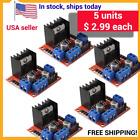 5-Pack, Arduino DC Stepper Motor Driver Module L298N Dual H Bridge Control Board