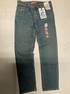 NWT MENS ARIZONA LOOSE STRAIGHT LEG JEANS 523-4121 LIGHT TINT
