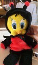 Warner Brothers Tweety Bird Dressed as a Lady Bug
