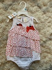first impressions baby girl Romper