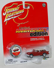 Johnny Lightning 10th Anniversary Limited Edition '54 Chevy Nomad Concept #5/20