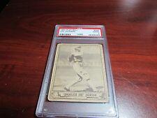 """1940 Play Ball   #225 Joe Jackson  """" PSA 2 Good """" Nice Card With Long Term Value"""