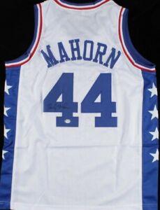 Rick Mahorn Signed Jersey (PSA COA)Philadelphia 76ers