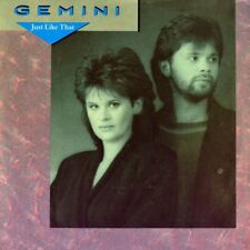 "7"" GEMINI Just Like That ANDERS GLENMARK ULVAEUS ANDERSSON ( ABBA ) POLYDOR 1985"