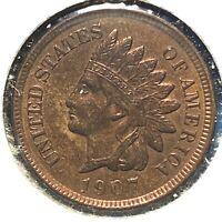 1907 1C Indian Cent (60746)