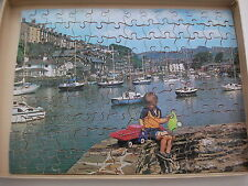 Vintage Victory jigsaw puzzle (plywood) harbour scene P4 125 pieces