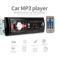Car MP3 Player High-quality Digital Stereo FM Radio 1 DIN Remote  Control USB BT