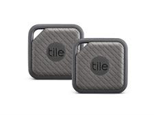 Tile Sport Key Finder, Phone Finder, Anything Finder - Graphite, Pack of 2