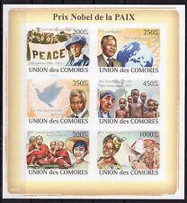 Comoro - 2008 - Nobels/Madre Teresa - imperf.!!! -M/S MNH - (E10)