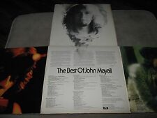 JOHN MAYALL The Best of ORIG 1st Pr TRI-FOLD OUT Gatefold 2 Double NM LP 1973
