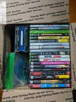 Lot Of 54 Video Games Not Working Scratched As Is Xbox PlayStation PC