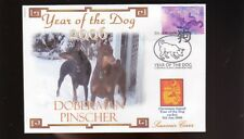 DOBERMAN PINSCHER 2006 YEAR OF THE DOG STAMP COVER 2