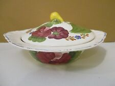 """SIMPSONS BELLE FIORE COVERED VEGETABLE BOWL - 9 1/2"""" x 2 1/2""""  1110F"""