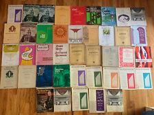 Vintage/Antique Lot of Piano & Organ Gospel/Sacred Sheet Music Books - 40's-80's