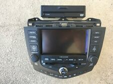 2004 2005 Honda Accord Sedan/ Coupe 6 Disc Navigation GPS CD Player Radio w/ dvd