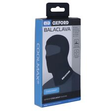 Oxford ouvert casque moto confortable élastique Coolmax cagoule noir CA015 T