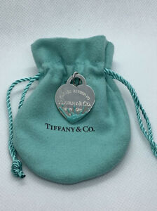 Tiffany & Co. Color splash heart tag charm. Tiffany blue.  Return to Tiffany