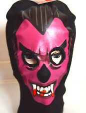 NEW Adult Purple Vampire Dracula black Balaclava hat halloween fancy dress