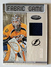 ANDERS LINDBACK 2012-13 Certified Fabric of the Game Jersey /299 Lightning