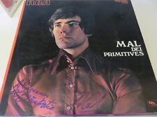 """LP """"MAL DEI PRIMITIVES"""" di MAL, AUTOGRAFO ORIGINALE"""